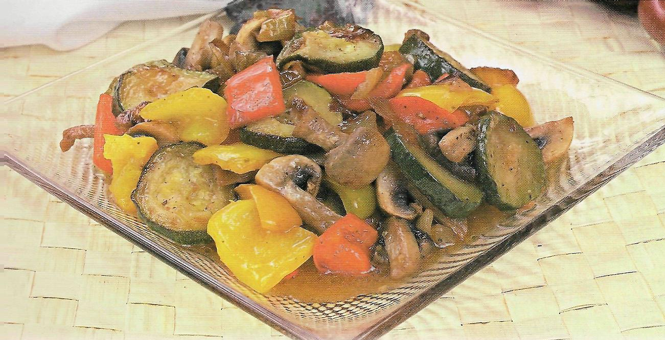 Тушеные овощи с грибами в мультиварке рецепты