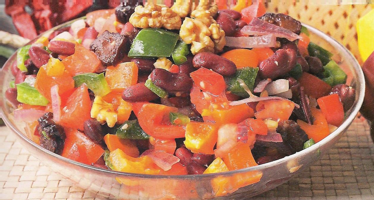 Салаты с сухариками и фасолью 7 рецептов вкусная