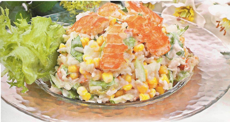 салат раковые шейки