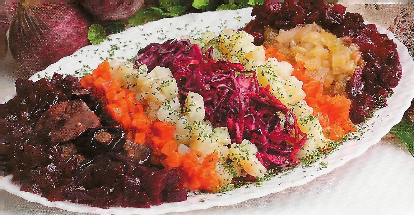 калорийный салат рецепт