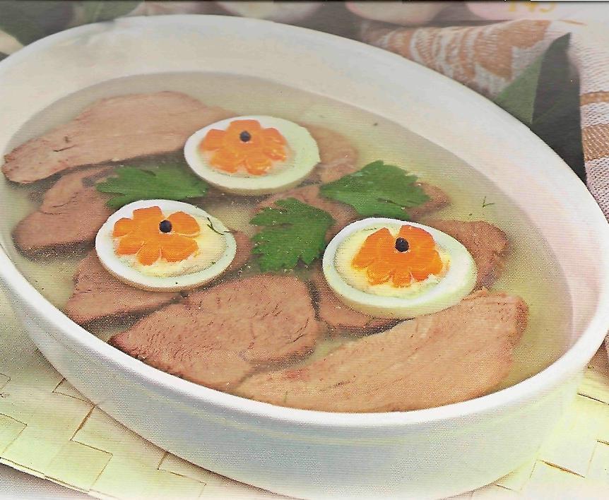 Рецепт заливного из мяса