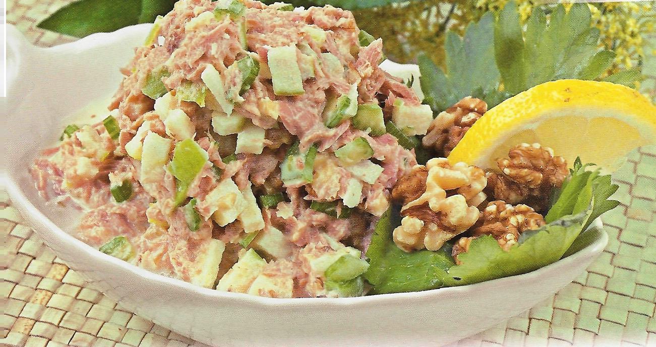 Рецепт вкусного салата из тунца консервированного